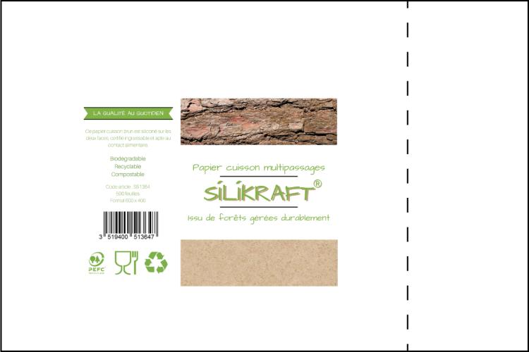 Papier de cuisson Silikraft